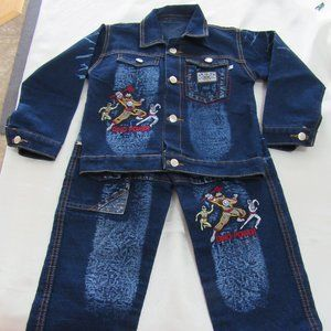 "Other - Boys Size 6-   ""2 Piece Blue Jean Jacket / Pants"""